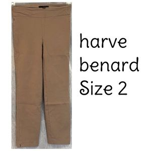 Harve Bernard Tan Stretch Jeggings Pants Size 2